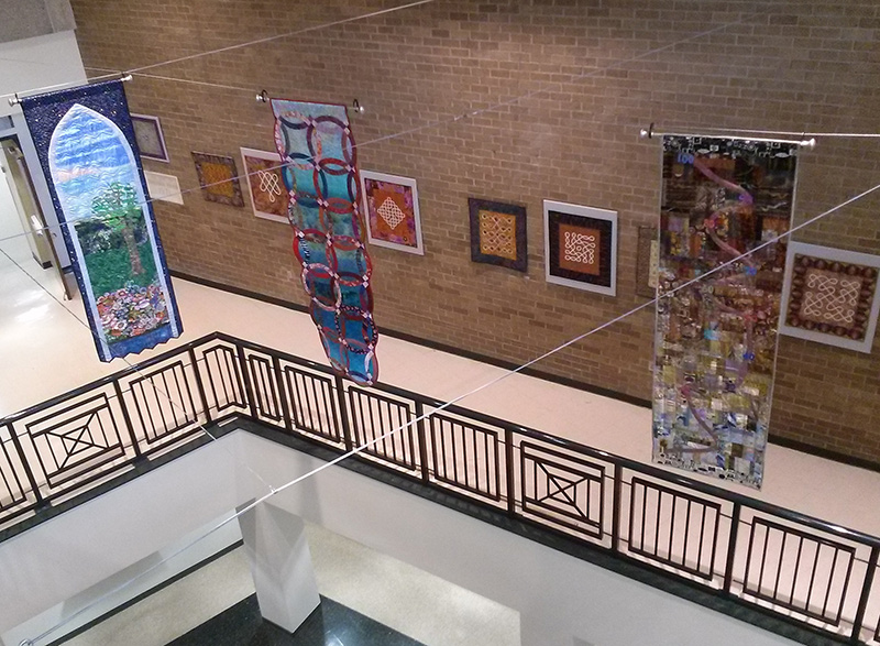 Lauren Kingsland | Quilted Memento Installation | Montgomery County Arts and Humanities Council